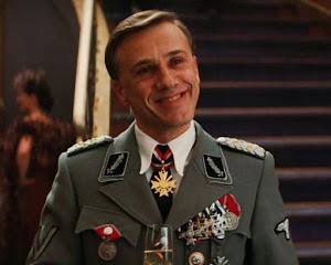 Christoph Waltz, en su personaje de Hans Landa en la pelicula Inglourious Basterds/Bastardos sin Gloria | Ximinia