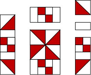 Red and White Quilt Pattern Tutorial by The Quilt Ladies