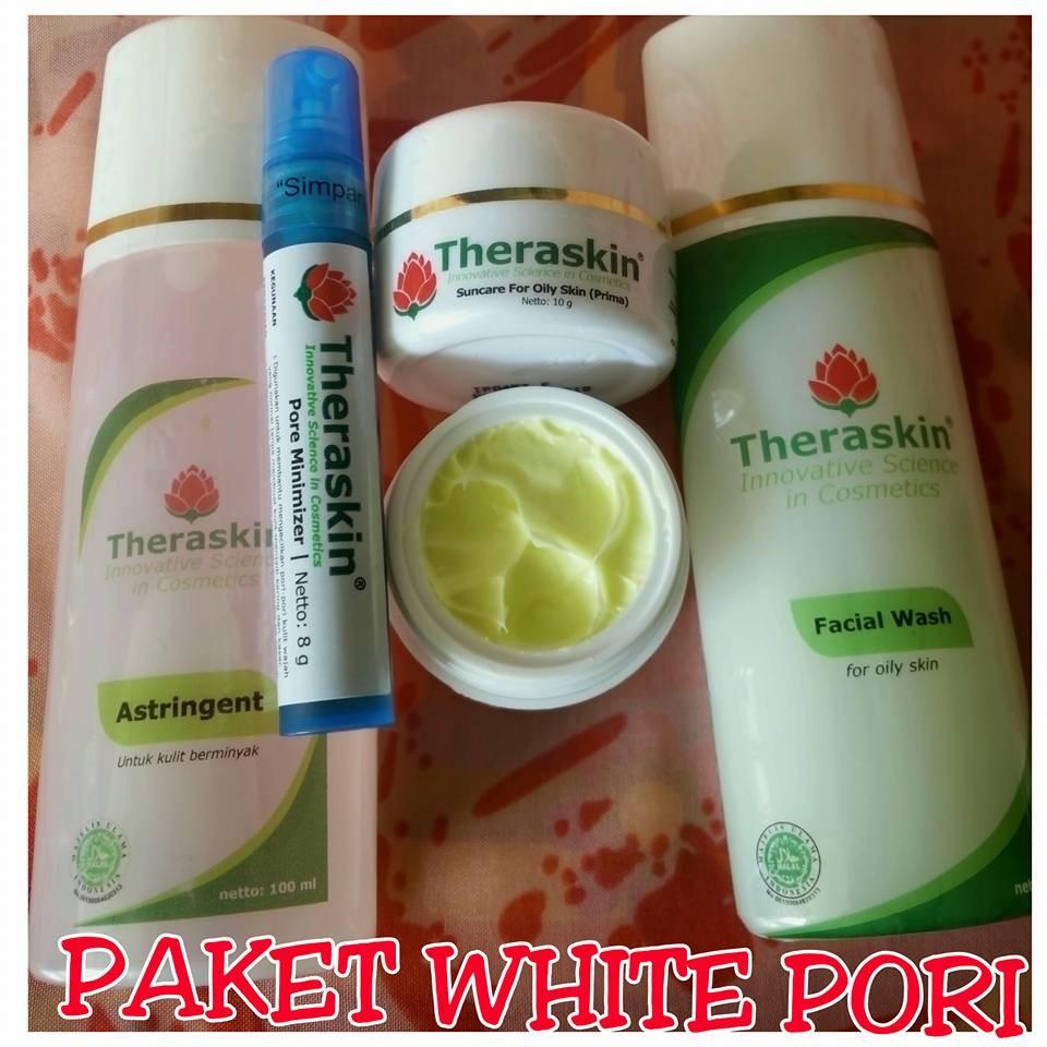 Paket Theraskin Care Indonesia Pore Minimizer Serum Untuk Mengecilkan Pori