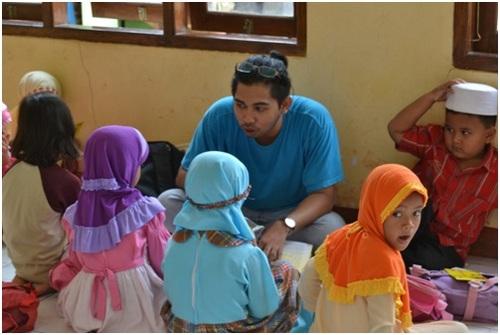 Sekolah berjalan kali ini diadakan di daerah Bedukan, Pleret, Bantul
