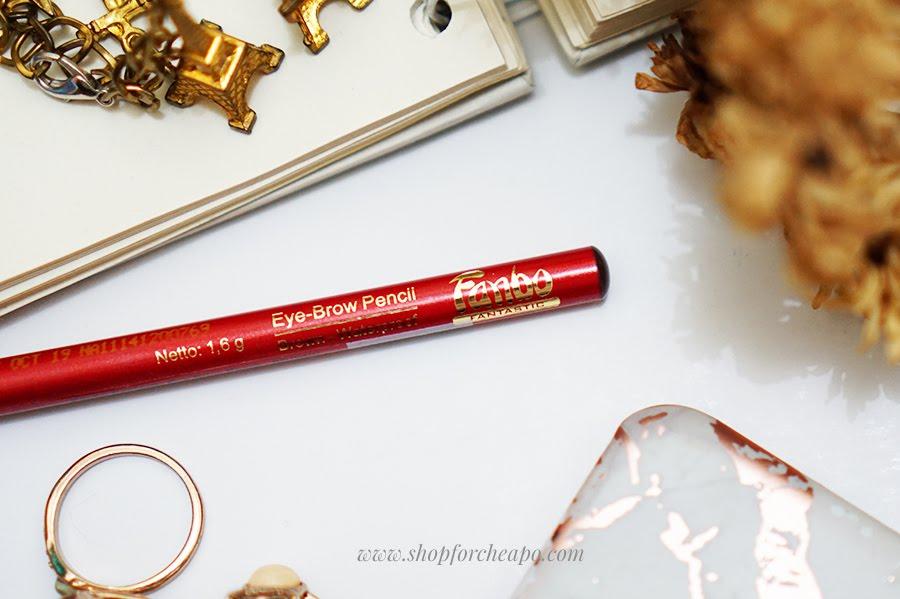 pensil alis Fanbo Fantastic Eyebrow Pencil Brown Review