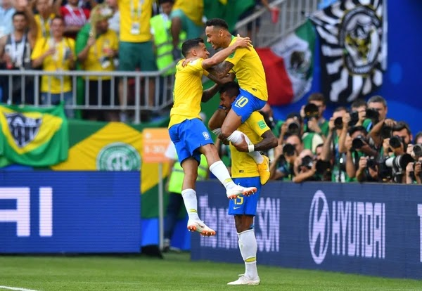 Brasil paró a México de la mano de Neymar