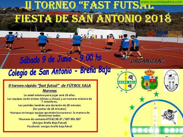 "FIESTA SAN ANTONIO: II Torneo de Fútbol Sala ""Fast Futsal"""