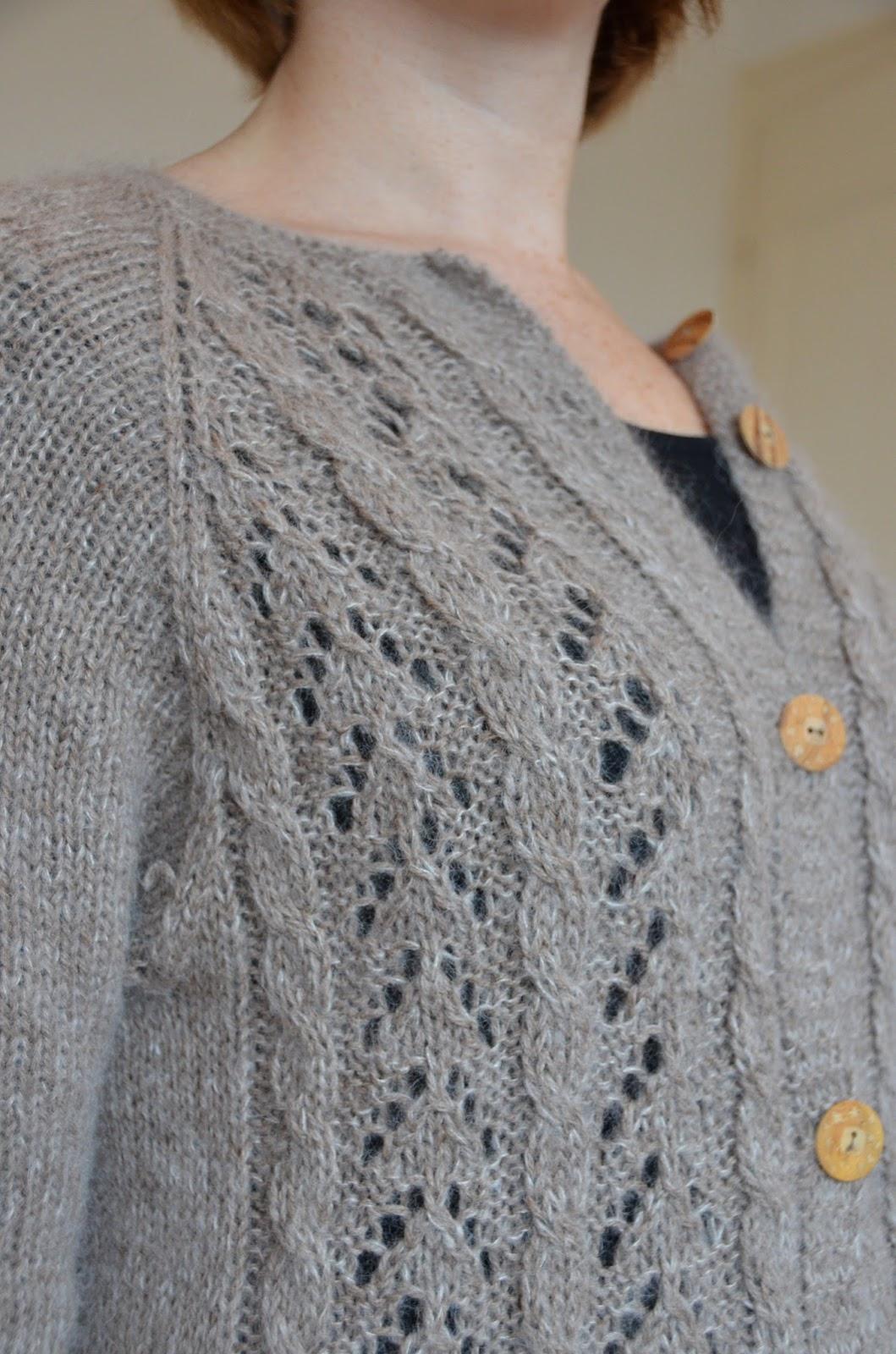 Une vie des envies tricot 5 gilet blue for you drops 158 4 - Tricot aiguilles circulaires magic loop ...