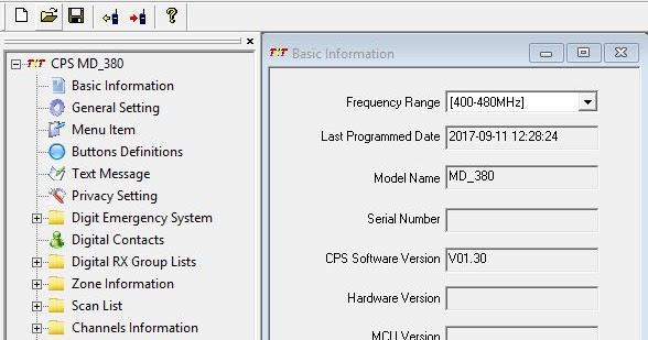 EI5DD - G4GFC: DMR Code Plug Programming