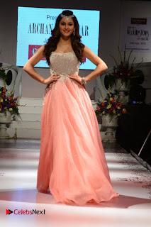 Actress Urvashi Rautela Pictures at The Wedding Vows Fashion Show 0010