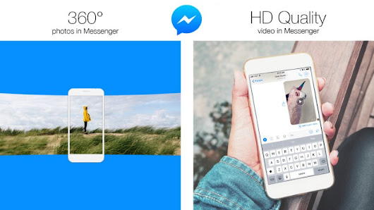 Facebook Messenger Now Supports 360-Degree Photos, HD Videos