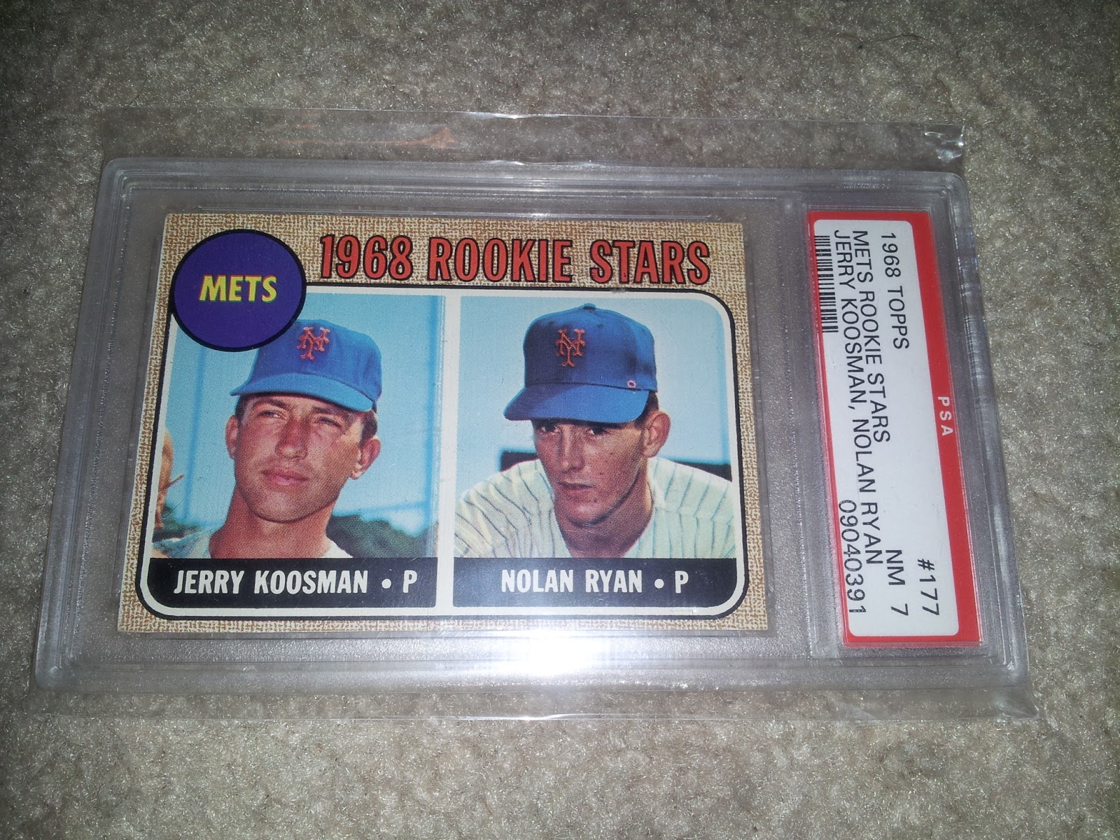 Nolan Ryan Rookie Card Mail Day Tan Man Baseball Fan