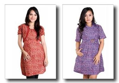 Model-Baju-Batik-Trendy-Wanita
