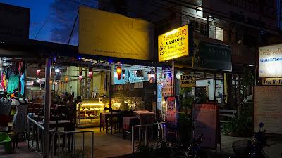 Manikong cafe in Luang Namtha