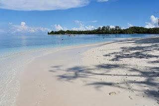 pantai pasir putih raja ampat papua