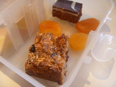 Cranberry Granola Bars - NUT FREE!