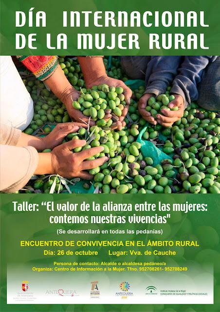 Día de la Mujer Rural en Antequera
