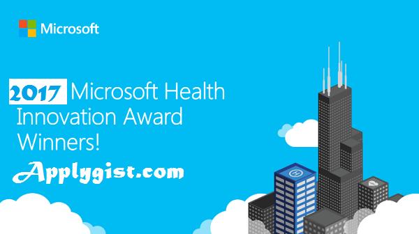 Apply for the Microsoft Health Innovation Awards