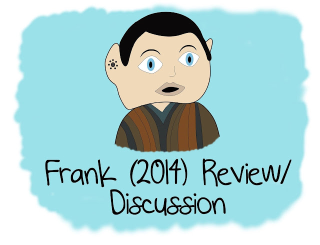 An illustration of Frank with the writing Frank (2014) Review/Discussion