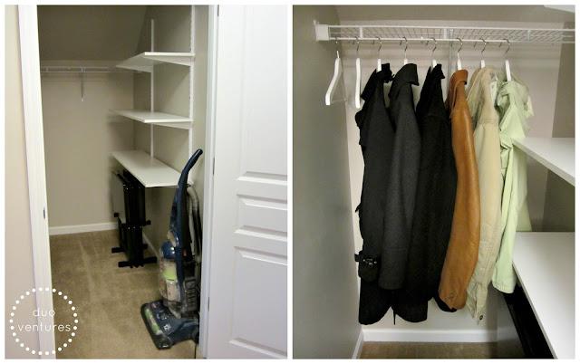 Duo Ventures Organizing The Coat Closet