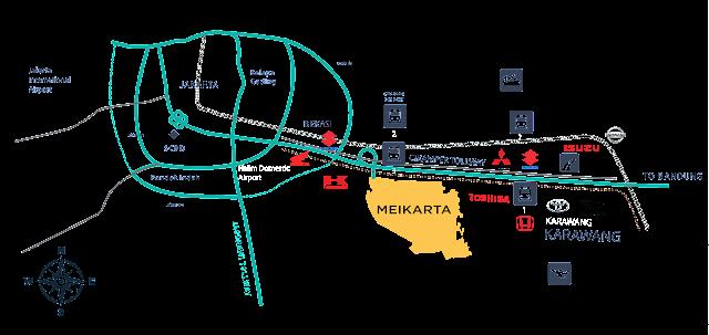 Mall Lippo Cikarang Meikarta www.rumah-hook.com