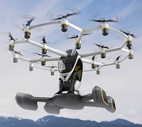 Lift Aircraft Hexa Flying Inside the Drone