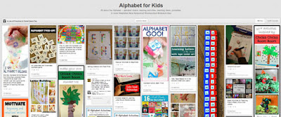 Alphabet for kids pinterest board