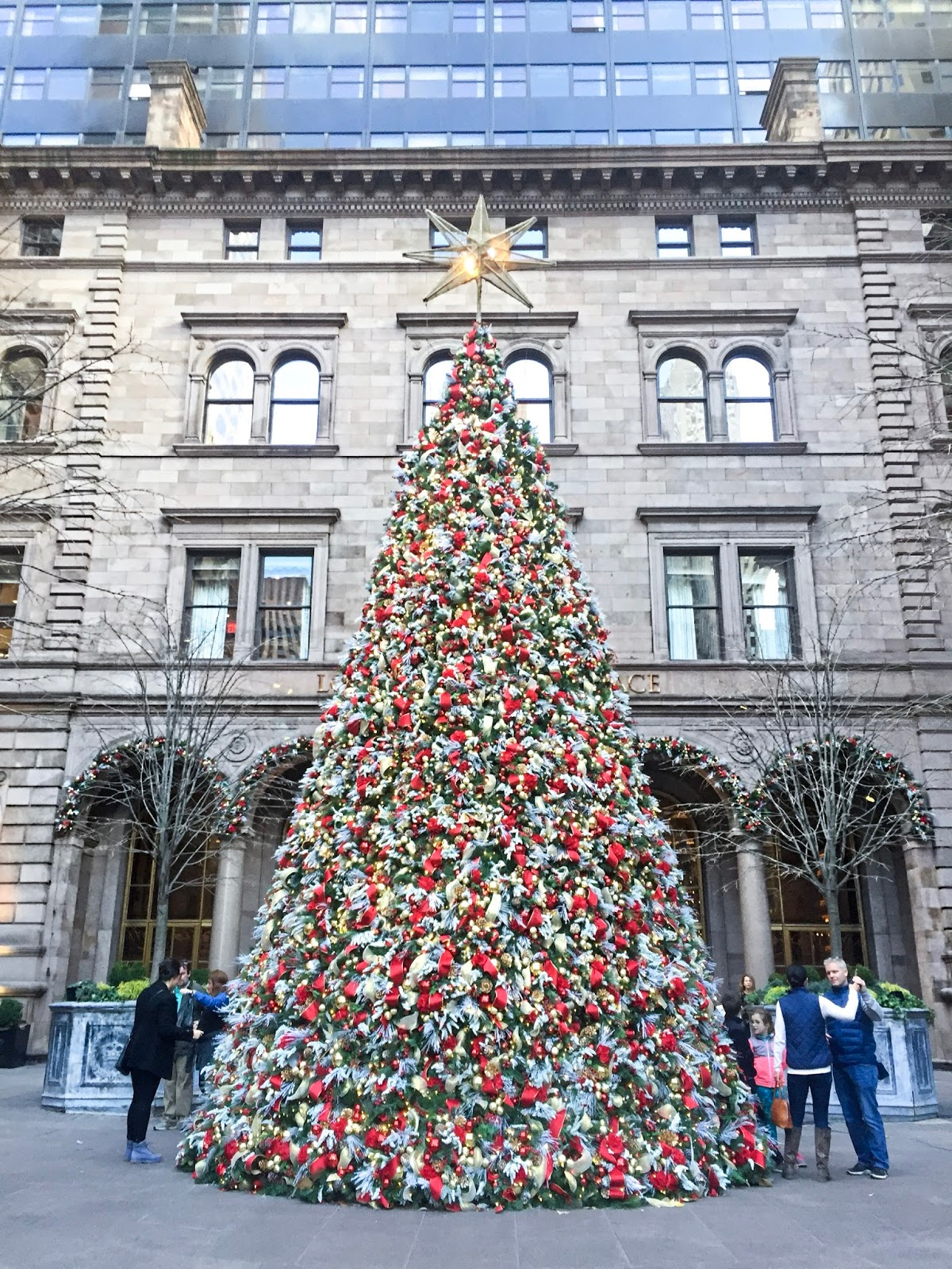 Lotte New York Palace Christmas Tree Gossip Girl