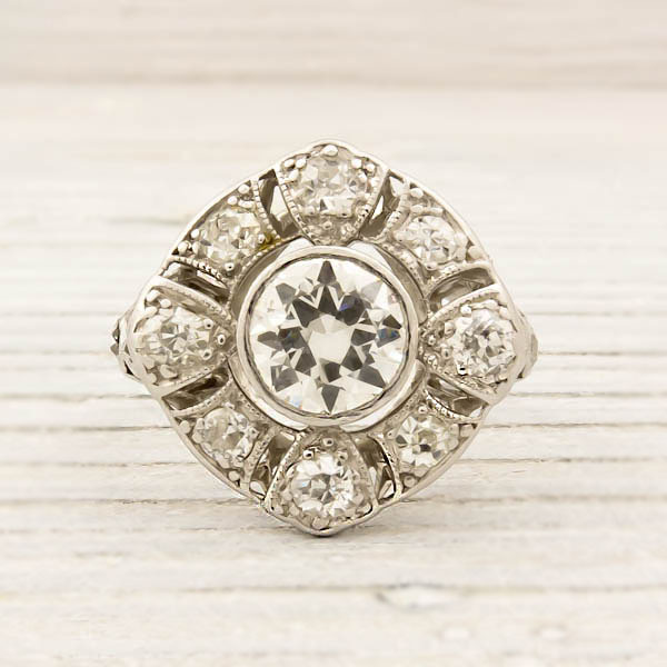 erstwhile jewelry engagement ring 7630 - {Frosted Find}  Erstwhile Jewelry