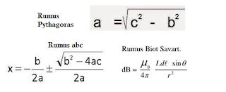 membuat rumus dengan equation sangat mudah