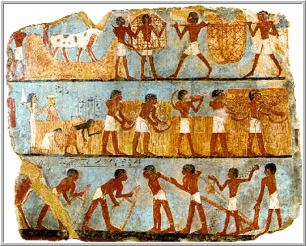 c5523fa39 Gli antichi egiziani ritenevano che la vita continuasse dopo la morte e che  l'anima avesse ancora bisogno di mangiare, di bere e di tutte le cose di  cui ...