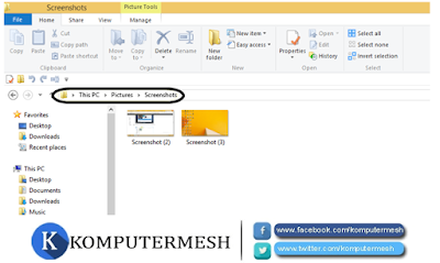 Cara Mengambil Screenshot Pada Windows 10