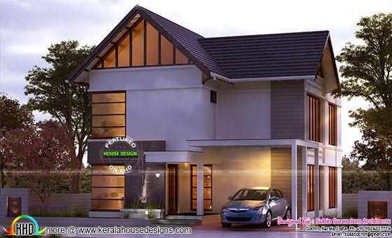Kerala home design 1478 sq-ft