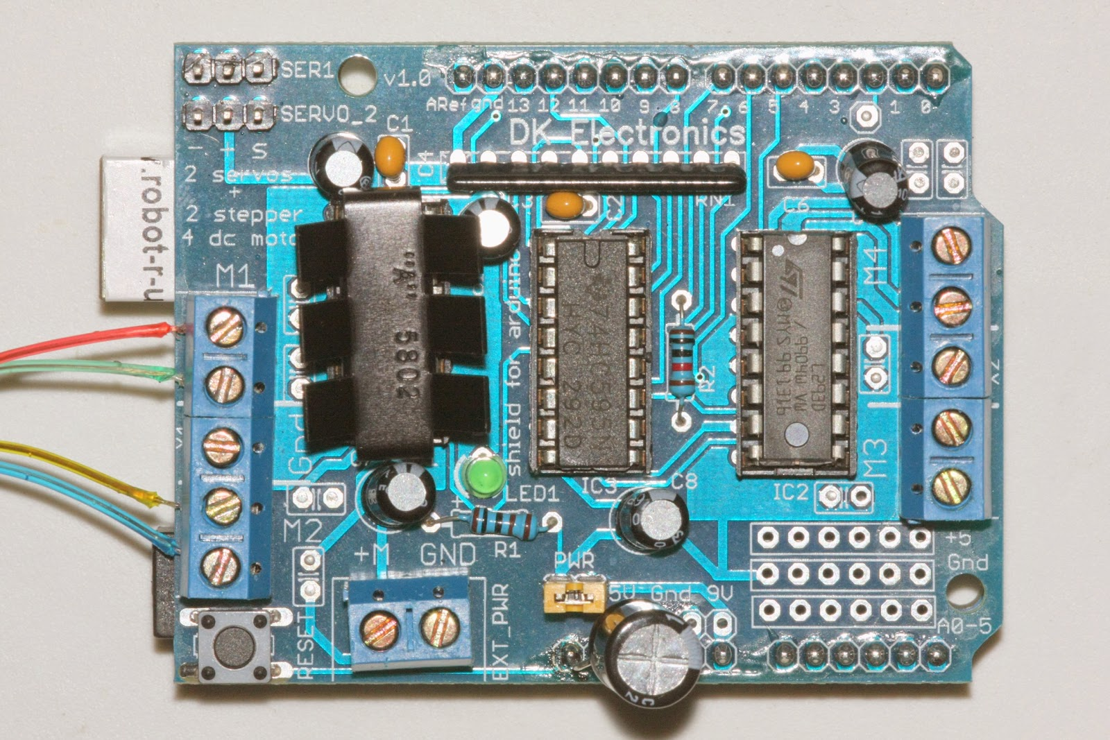 orly going thirty: Arduino-based Motor Focuser Controller