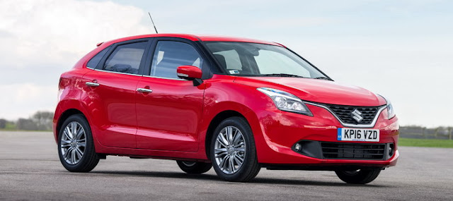 Suzuki Launches New Baleno in Britain at a starting price of US $ 18.980
