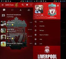 BBM Mod Liverpool CLONE Apk 3.3.1.24