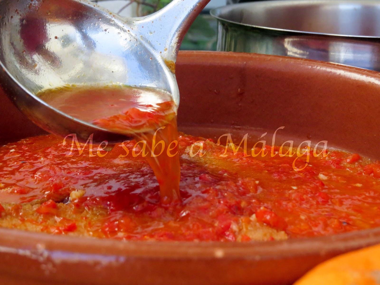 "Me sabe a Málaga: Gazpacho ""tostao"""