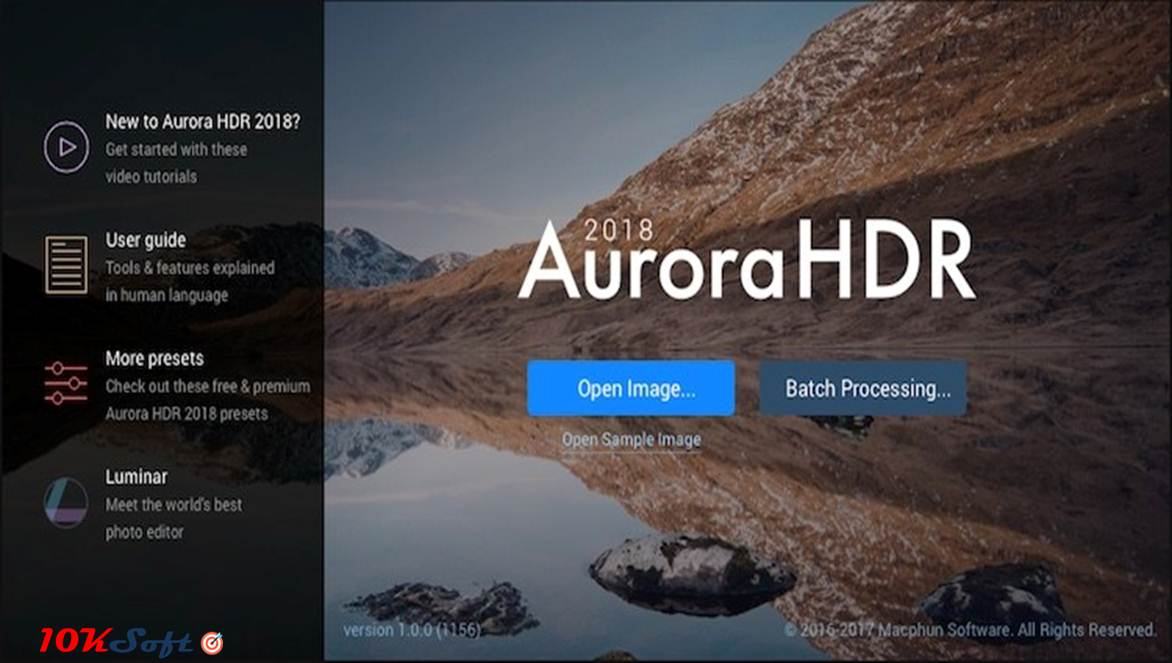 Aurora HDR 2018 Latest Version Direct Link Download