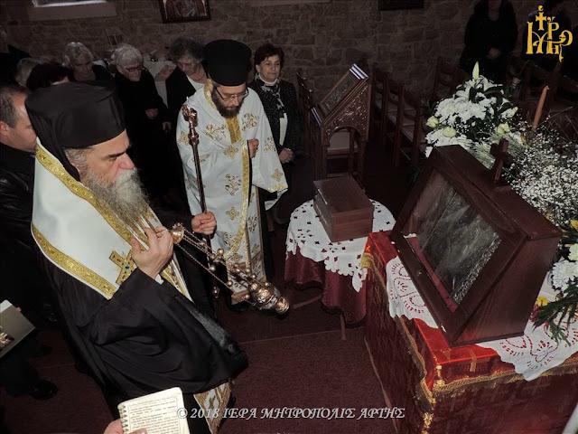Άρτα: Η Ενορία Συκεών Άρτης Υποδέχθηκε Την Παναγία Την Ροβέλιστα