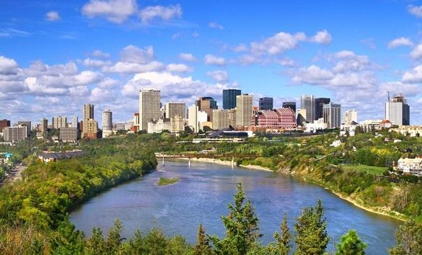 alugar um carro em Edmonton no Canadá