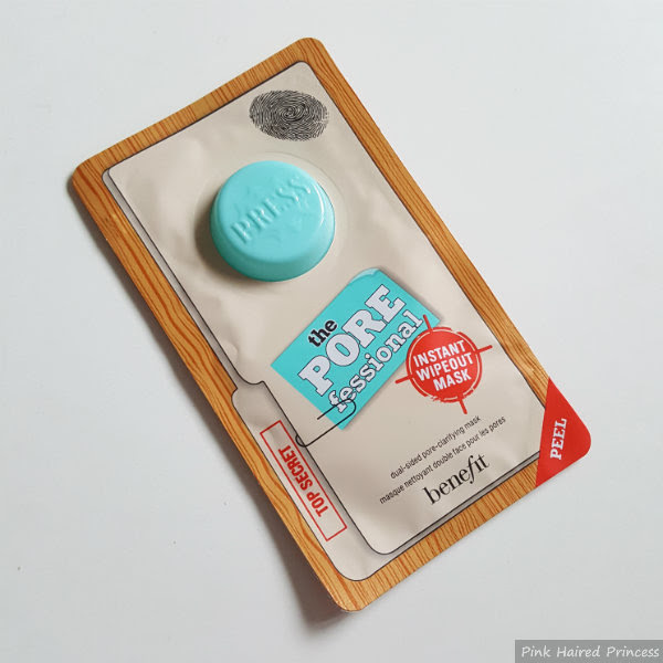 BeneFit the POREfessional Instant Wipeout Mask sachet review