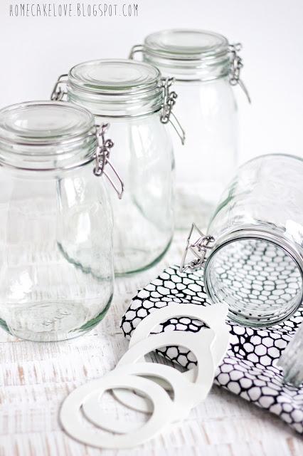 ikea Vorratsglas mit Edding beschriften,Diy