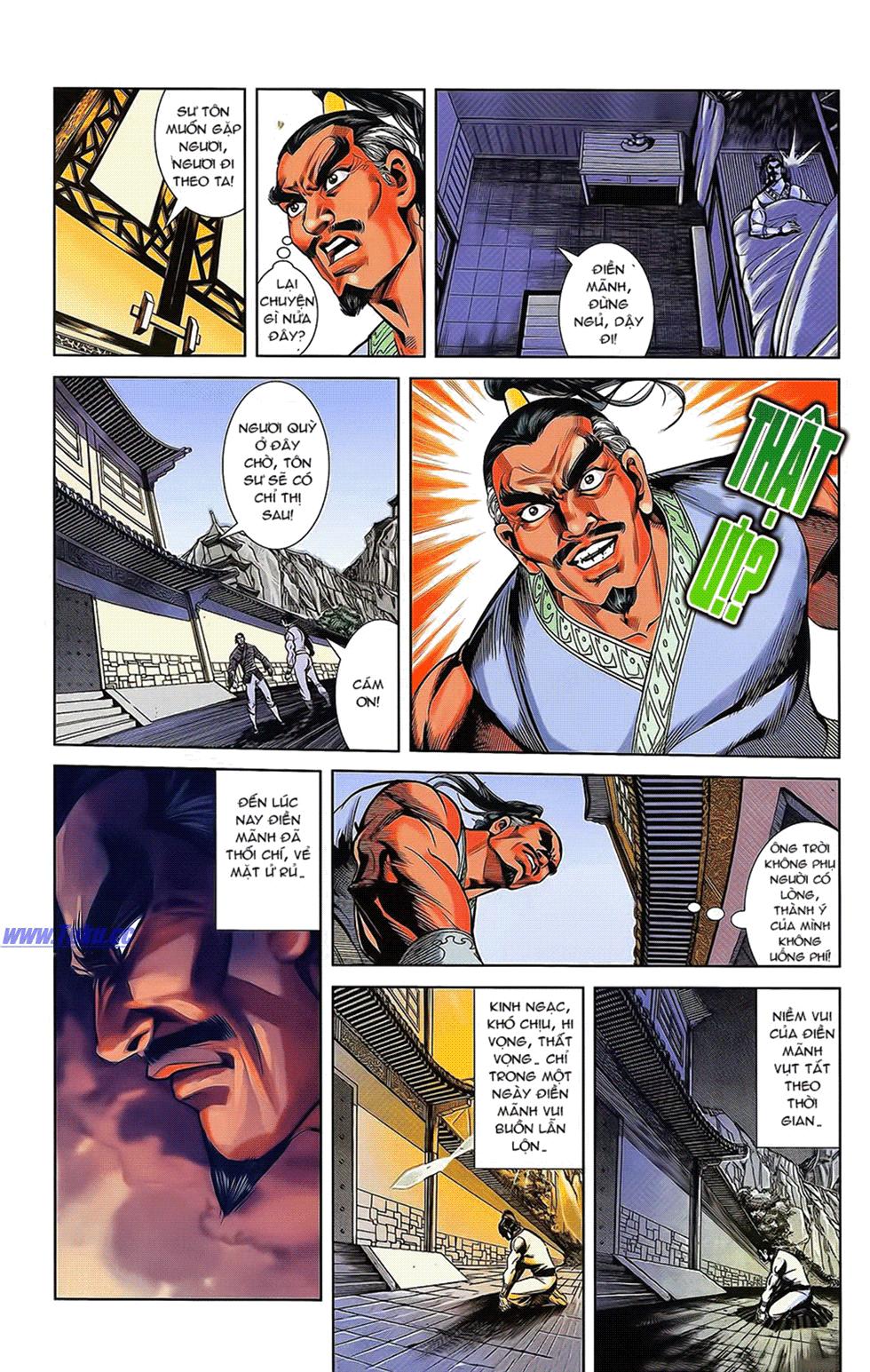 Tần Vương Doanh Chính chapter 16 trang 16
