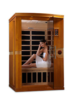 Dynamic Saunas AMZ-DYN-6210-01 Venice 2-Person Far Infrared Sauna, picture, image, review features & specifications