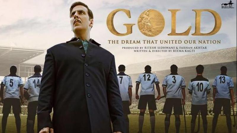 Akshay Kumar film Gold Crosses 100 Crore Mark, Akshay Kumar's Gold 9th Films enters in Bollywood 100 Crores Club.