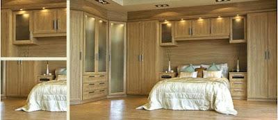 Design wardrobe for modern minimalist home