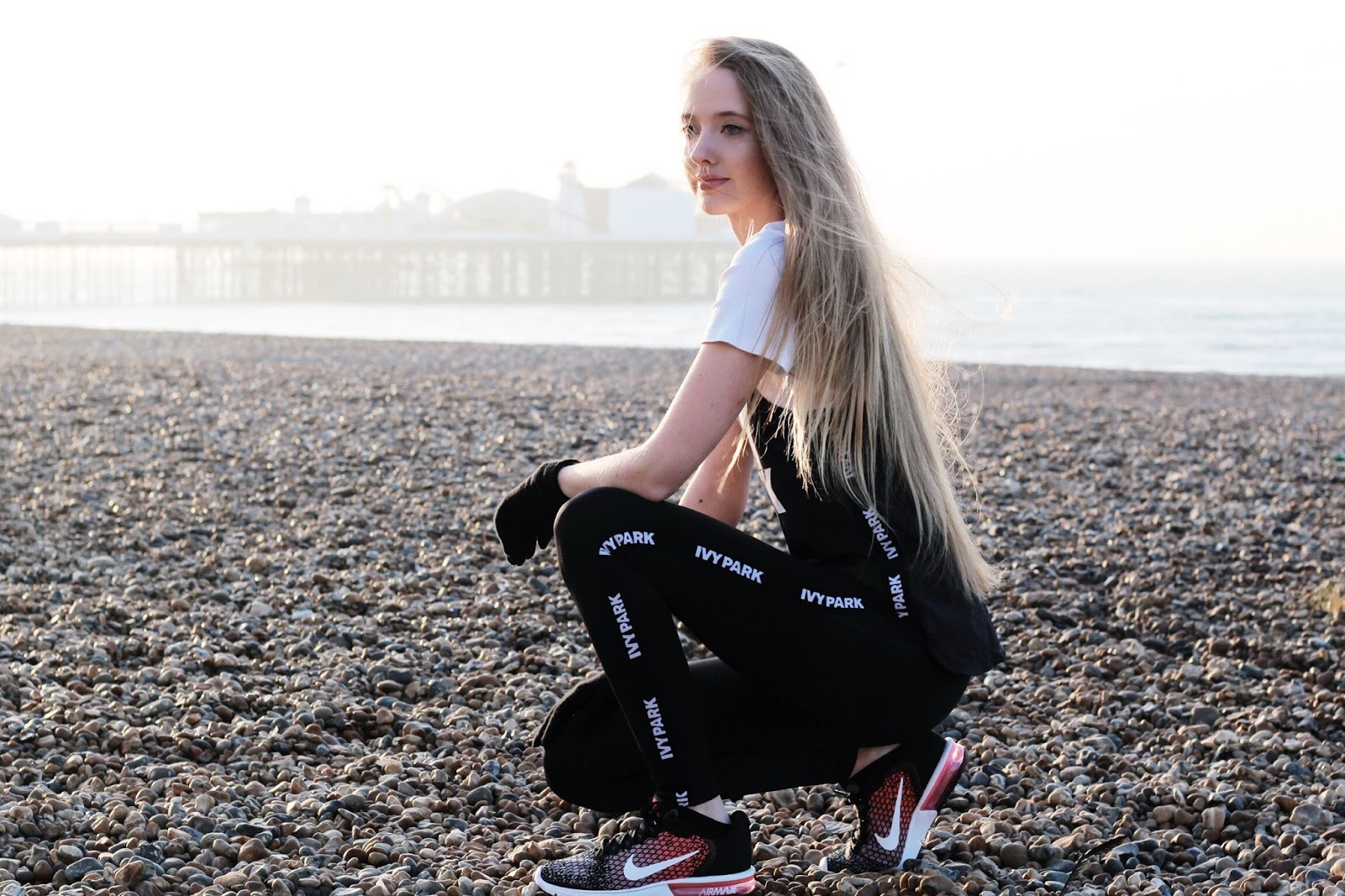 UK Womens Fitness Blogger in JD Sports Activewear