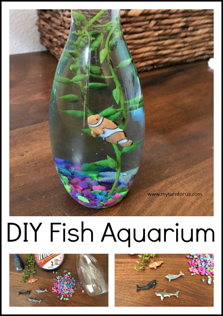 diy mini fish aquarium. Black Bedroom Furniture Sets. Home Design Ideas