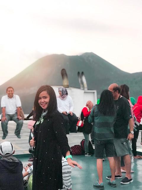 sail to krakatau 2018, travel blogger, wisata banten, gunung krakatau