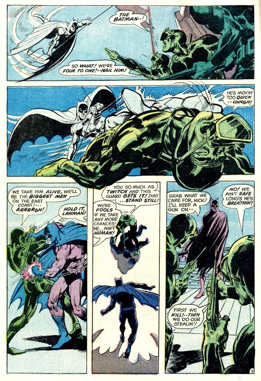 Detective Comics #397 dc Batman comic book page art by Neal Adams