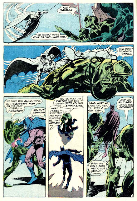 Detective Comics #397 dc Batman comic book page art by Neal Adams