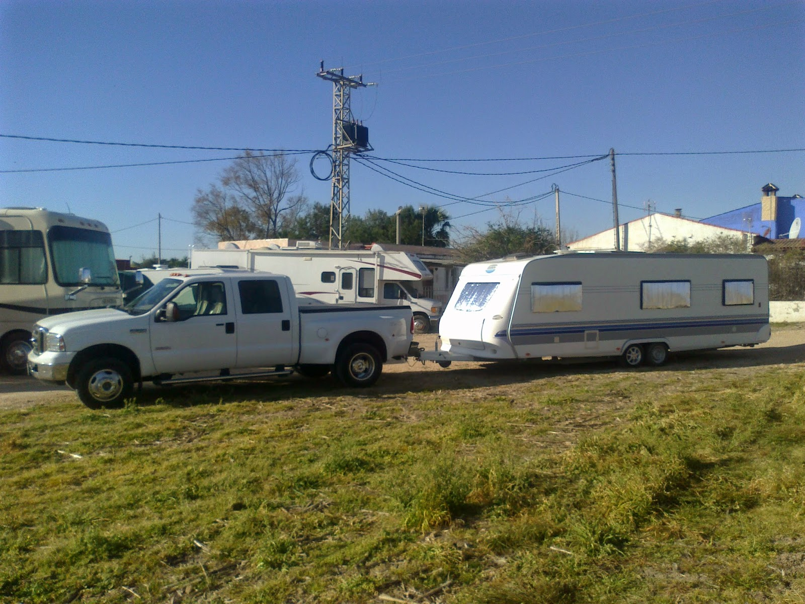 Caravan, boat, trailer towing service, Costa Blanca, Spain
