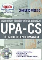 Apostila concurso UPA CS BH TÉCNICO DE ENFERMAGEM.