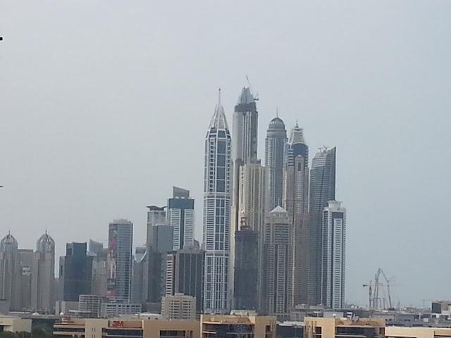 Dubaissa lasten kanssa talvella